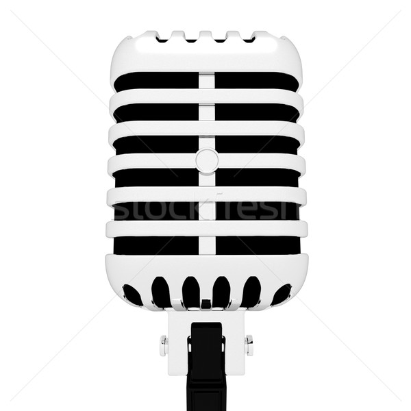 Mic Closeup Shows Microphone Concert Entertainment Or Show  Stock photo © stuartmiles