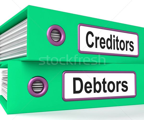 Dateien Anleihe Business Geld Finanzierung Stock foto © stuartmiles