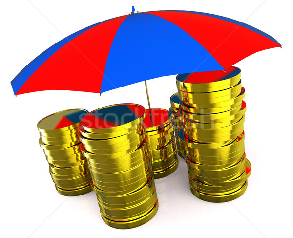 Protect Money Indicates Invest Restricted And Protecting Stock photo © stuartmiles
