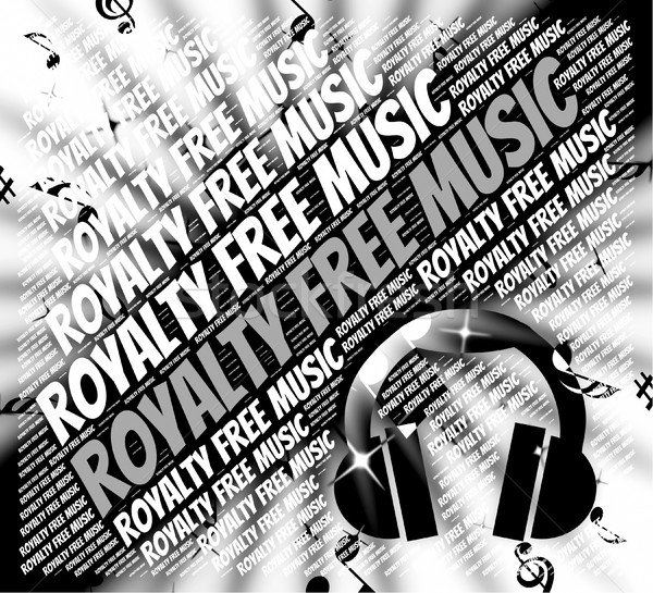 Libera musica suono brano libero materiale Foto d'archivio © stuartmiles