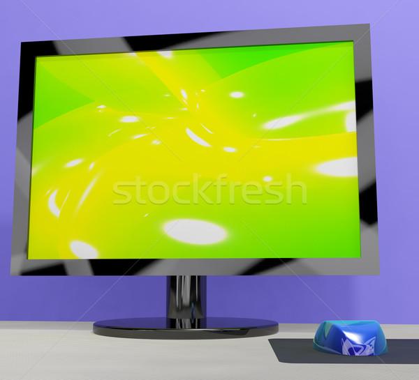テレビ モニター 高解像度 テレビ hdtv ストックフォト © stuartmiles