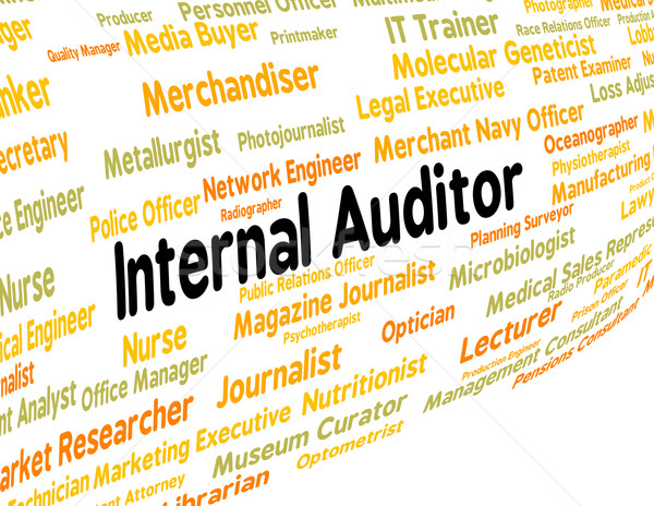 Internal Auditor Shows Hire Actuary And Recruitment Stock photo © stuartmiles