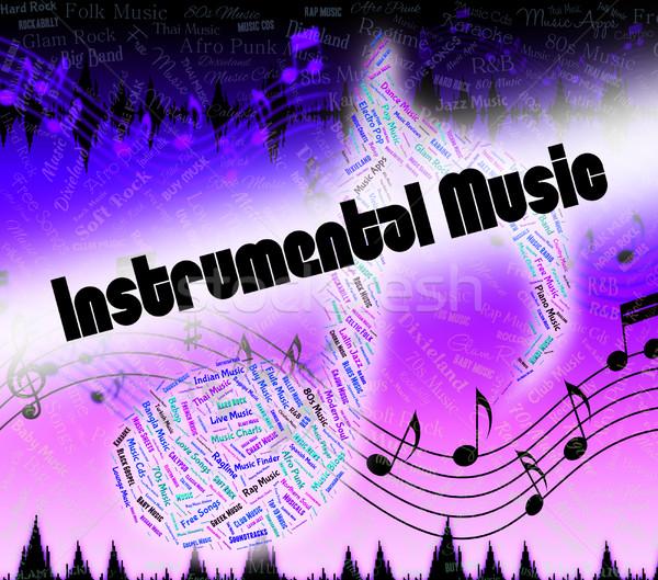 Instrumentális zene musical harmónia mutat hang Stock fotó © stuartmiles