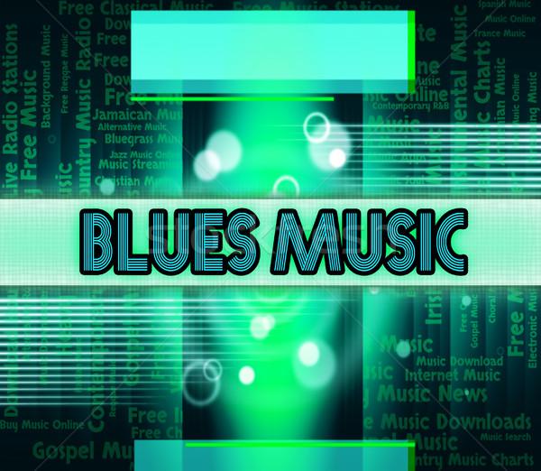 ブルース 音楽 サウンド トラック アコースティック オーディオ ストックフォト © stuartmiles