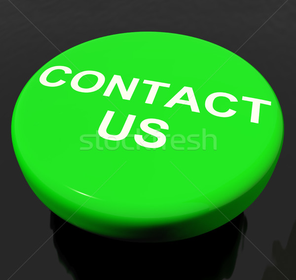 Contact Us Button As Symbol For Calling Or Emailing Stock photo © stuartmiles