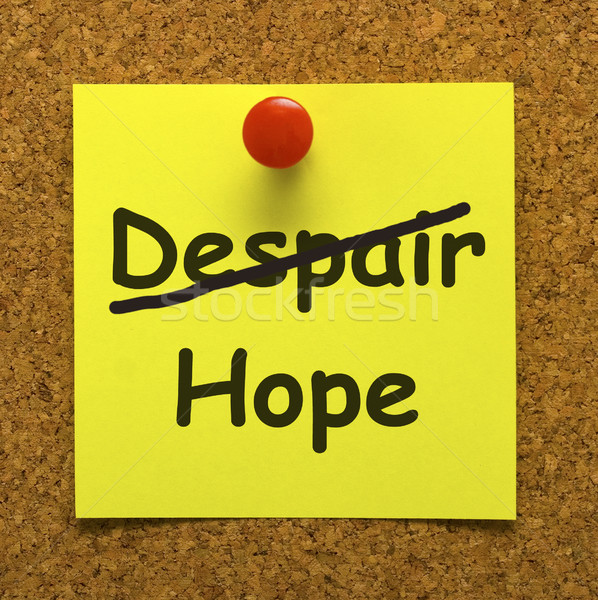 Hoffnung beachten Wünsche Stock foto © stuartmiles
