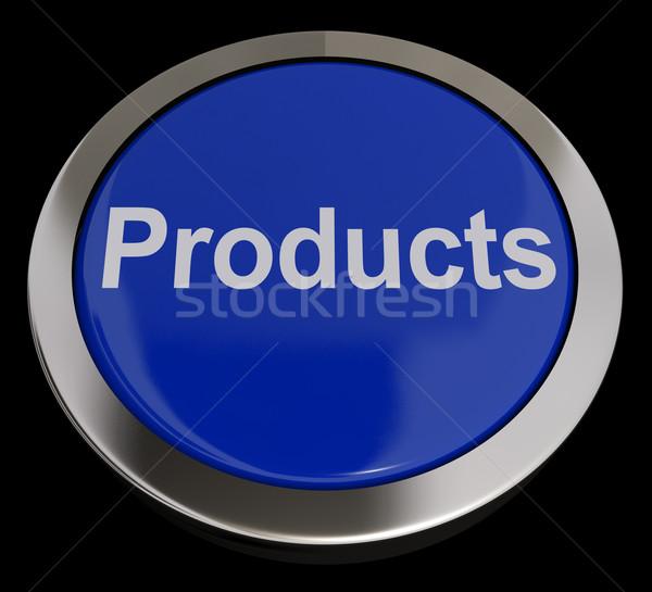 製品 ボタン 青 インターネットショッピング ストックフォト © stuartmiles