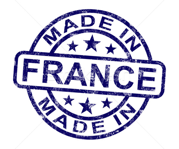 Francia sello francés producto producir Foto stock © stuartmiles