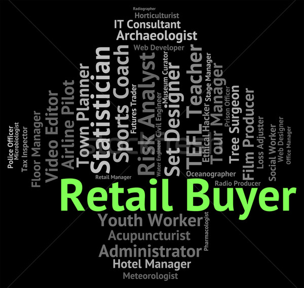 小売 従業員 マーケティング 言葉 作業 ストックフォト © stuartmiles