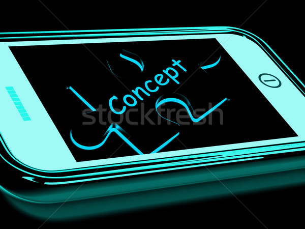Concept Smartphone Means Innovation And Developing Ideas Stock photo © stuartmiles