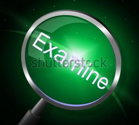 Igen gomb szimbólum jóváhagyás elfogadás zöld Stock fotó © stuartmiles