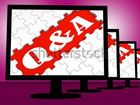 Finale Stück Puzzle Problem Stock foto © stuartmiles