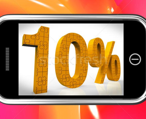 10 смартфон дешево продукции цен Сток-фото © stuartmiles