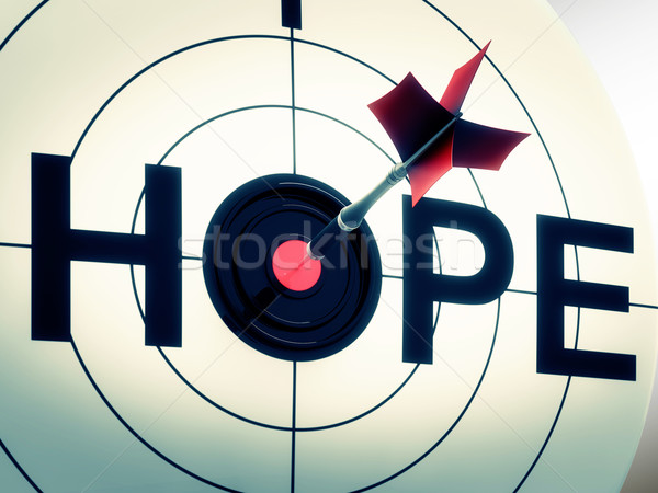 Hope Shows Sign Of Wishing And Hoping Stock photo © stuartmiles