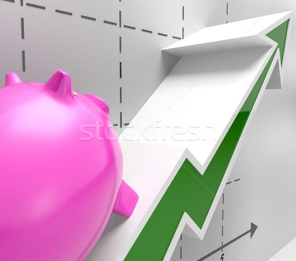 Escalada objetivos éxito beneficio Foto stock © stuartmiles