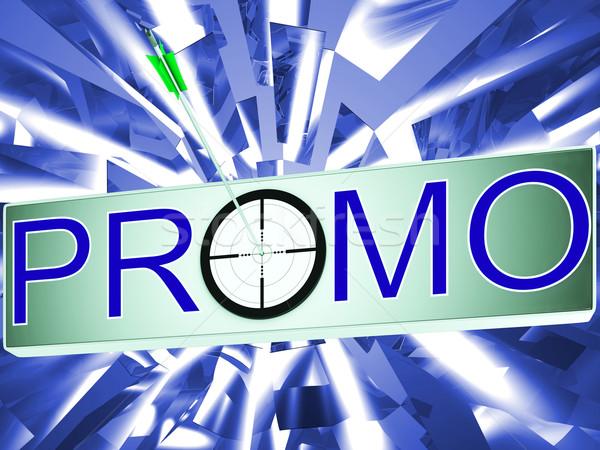 Promo Shows Promotion Discount Sale Stock photo © stuartmiles