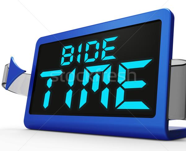 Temps horloge instant Photo stock © stuartmiles