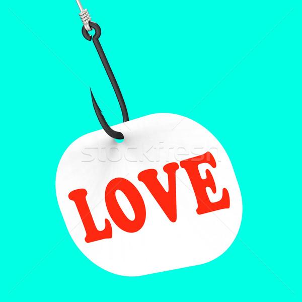 любви крюк романтические обольщение Сток-фото © stuartmiles
