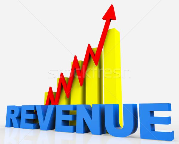 Increase Revenue Represents Business Graph And Advancing Stock photo © stuartmiles