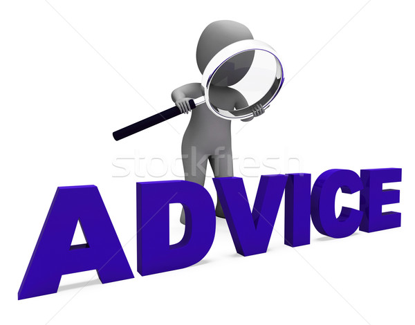 Advice Character Means Guidance Councel Recommend Or Suggest