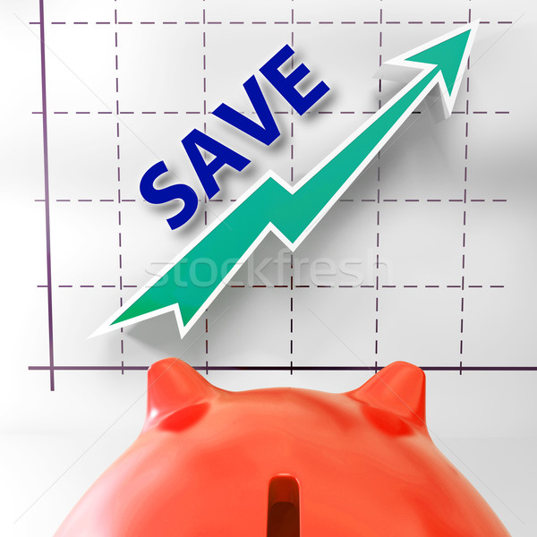 Save Graph Means More Discounts Specials And Bargains Stock photo © stuartmiles