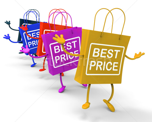 Best Price Bags Show Deals on Merchandise and Products Stock photo © stuartmiles