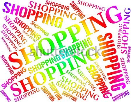 Discounts Words Shows Reduction Savings And Text Stock photo © stuartmiles