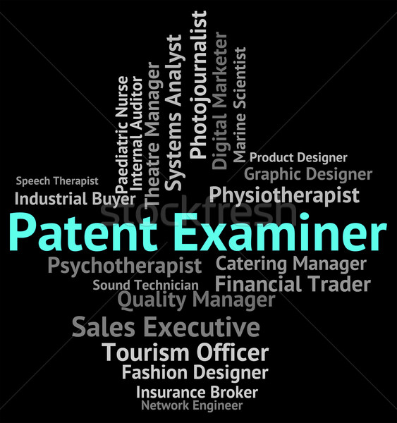 Patent Examiner Means Performing Right And Analyst Stock photo © stuartmiles