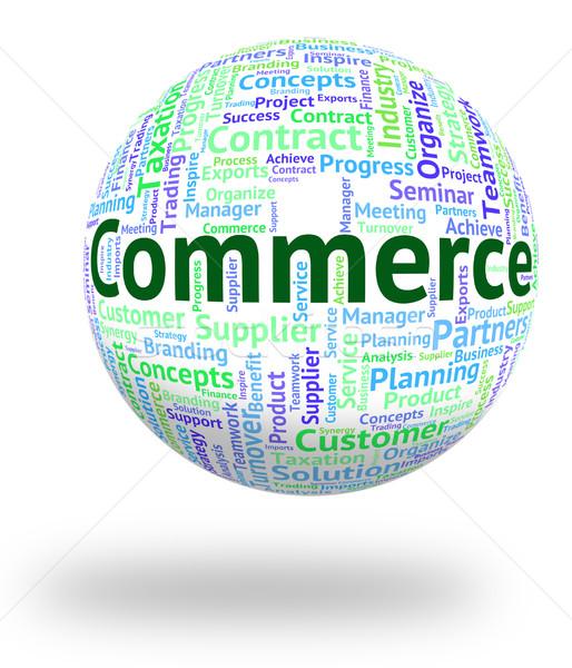 торговли слово торговли электронной коммерции купить бизнеса Сток-фото © stuartmiles