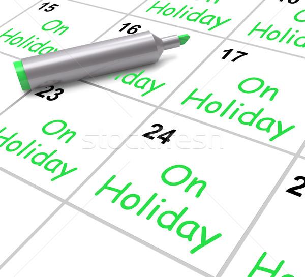 ünnep naptár éves búcsú idő el Stock fotó © stuartmiles