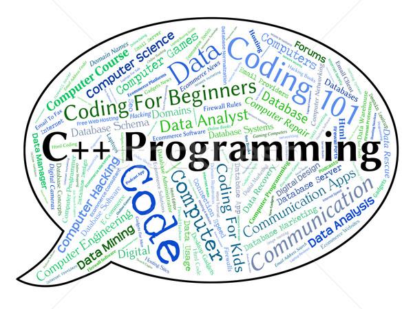 Programmation logiciels développement demande Photo stock © stuartmiles