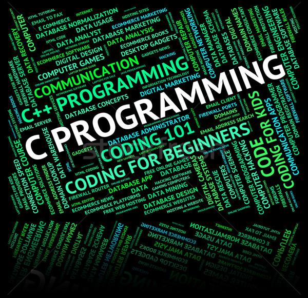Programmation logiciels développement demande design Photo stock © stuartmiles