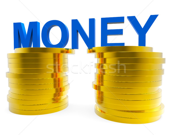 Cash Sales Means Save Money And Capital Stock photo © stuartmiles