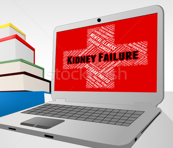 Kidney Failure Shows Lack Of Success And Ailment Stock photo © stuartmiles