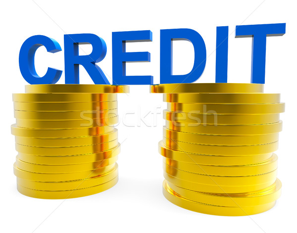 Alto credito carta di debito banking soldi carta di credito Foto d'archivio © stuartmiles
