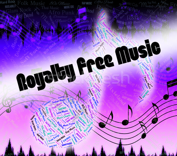 Royalty Free Music Shows Sound Tracks And Acoustic Stock photo © stuartmiles
