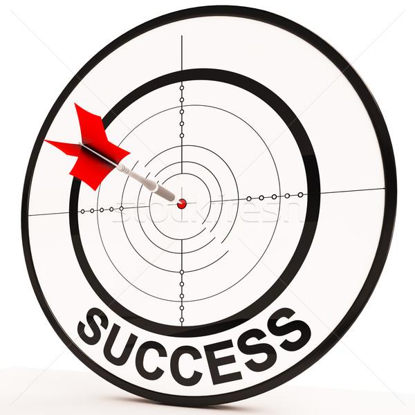 Successo raggiungimento determinazione vincente miglioramento Foto d'archivio © stuartmiles