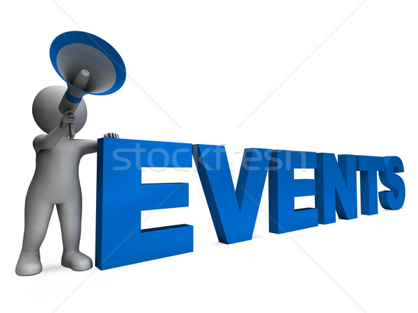 Events Character Means Concert Occasion Events Or Functions Stock photo © stuartmiles