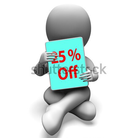 Do It Tablet Character Means Act Or Take Action Now Stock photo © stuartmiles