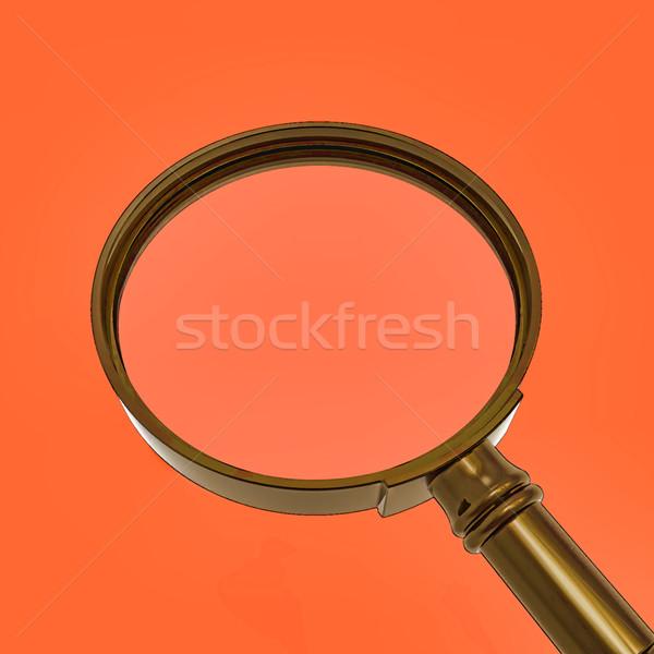 Nagyító zoom mutat keresés szerszám nagyító Stock fotó © stuartmiles