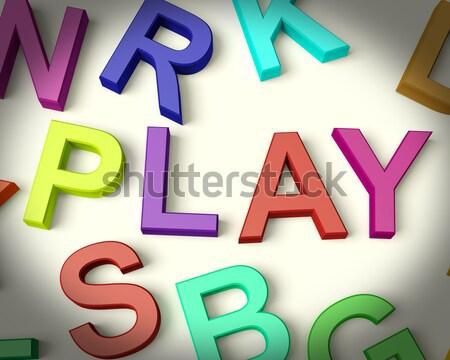 письма правописание продажи символ бизнеса Сток-фото © stuartmiles
