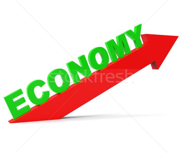 Improve Economy Represents Improvement Plan And Advance Stock photo © stuartmiles