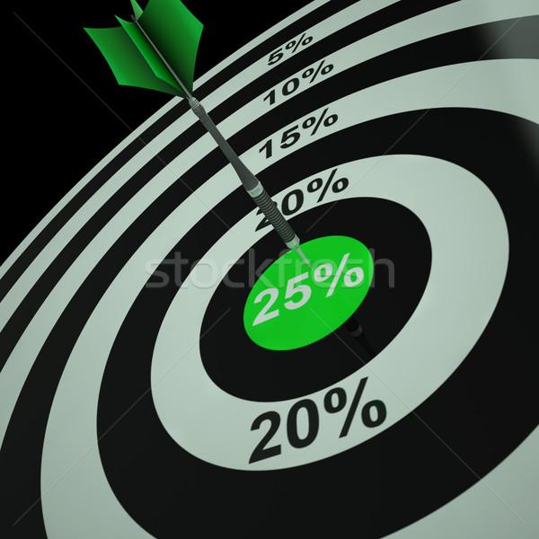 25 cento vendita taglio sconto Foto d'archivio © stuartmiles