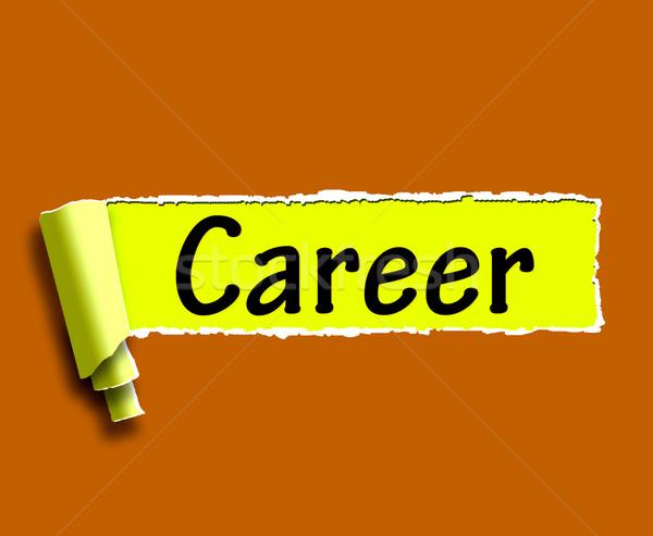 キャリア 言葉 インターネット 仕事 雇用 検索 ストックフォト © stuartmiles