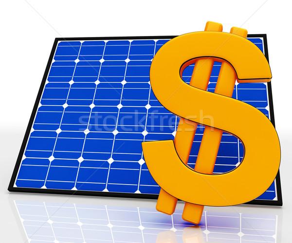 ドル記号 エネルギー ストックフォト © stuartmiles