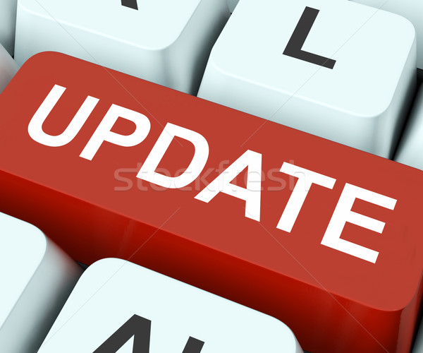 Update Key Means Revise Or Upgrade