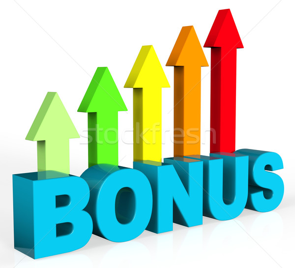 Increase Bonus Means Asking Price And Amount Stock photo © stuartmiles