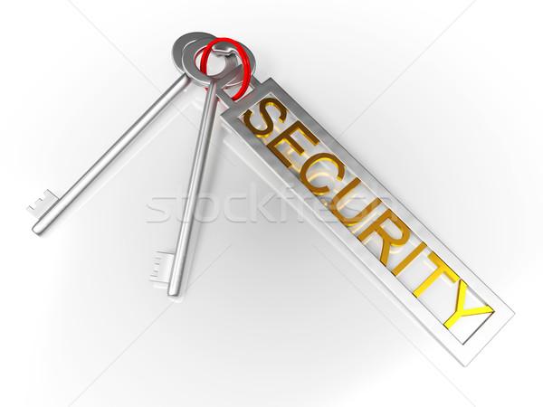 Biztonság kulcsok védelmez zárolt széf mutat Stock fotó © stuartmiles