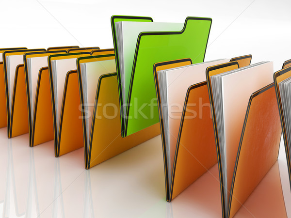 Files Meaning Organizing And Paperwork Stock photo © stuartmiles