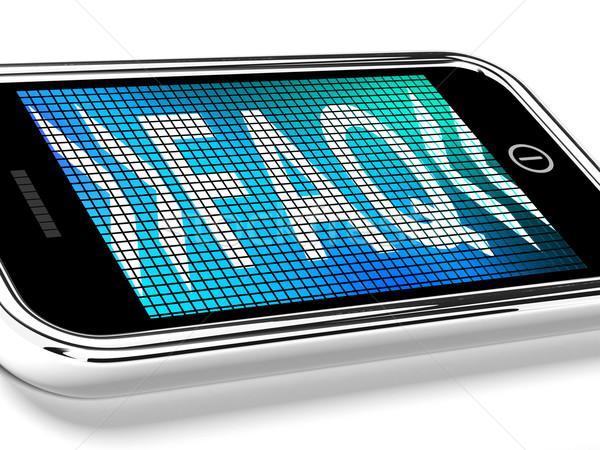 よくある質問 メッセージ 携帯電話 画面 ヘルプ ストックフォト © stuartmiles